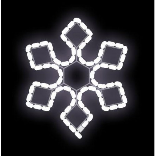 Световая снежинка (размер: 300 х 357)