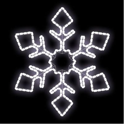 Световая снежинка (размер: 620 х 715)