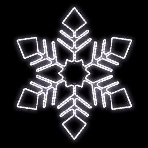 Световые снежинки