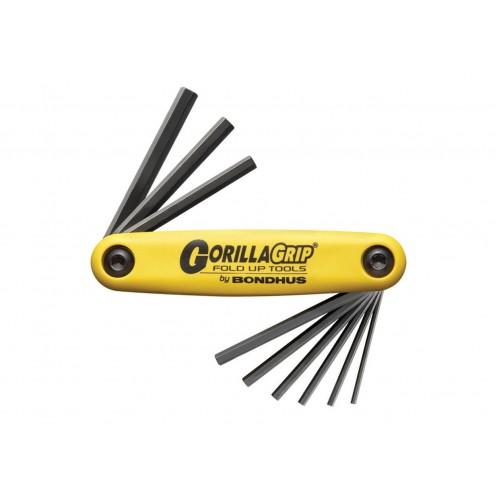 Комплект ключей-шестигранников Bondhus GorillaGrip Large