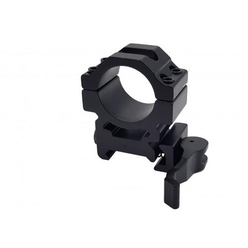 Кольцо на Weaver универсальное быстросъемное Centershot для крепления прицелов/фонарей/боуфишинга