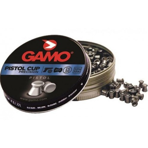 Пули пневматические GAMO PISTOL CUP 4,5мм (250шт)