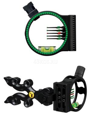 Прицел TR Punisher 5 для блочного лука черный