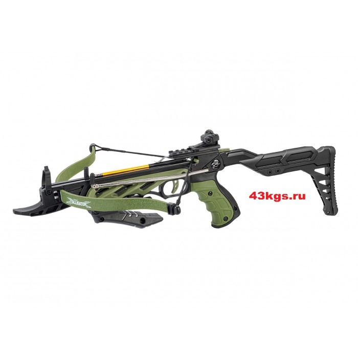 Арбалет-пистолет MK-TCS2 Alligator (зеленый)
