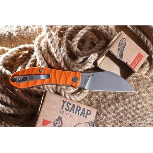 Нож складной Tsarap (orange handle)