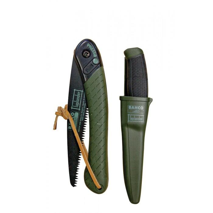 Набор нож и ножовка складная BAHCO LAP-KNIFE