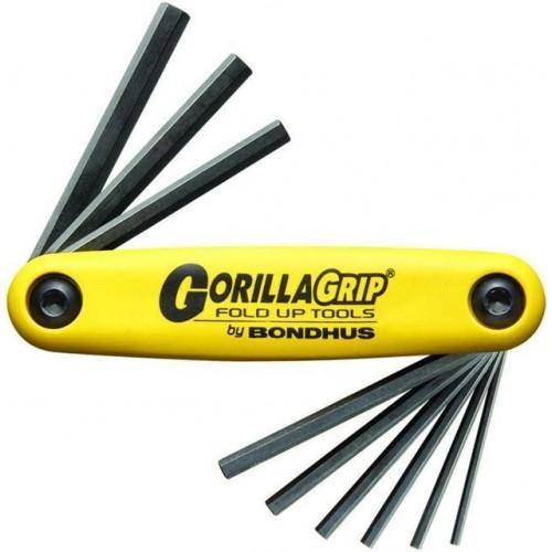 Набор ключей-шестигранников GorillaGrip