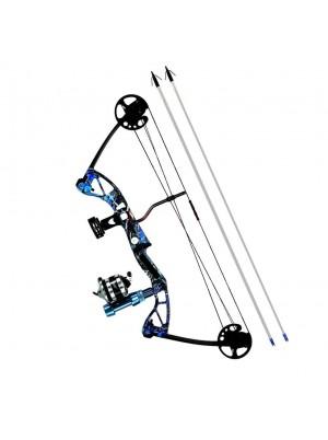 Лук блочный REX для рыбалки (в комплекте)