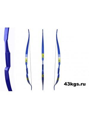 """Лук традиционный Rolan Snake 60"""" (синий)"""