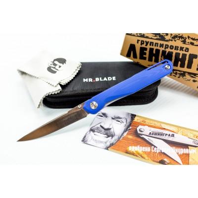 Нож складной Astris авторский (blue handle) - MR.BLADE
