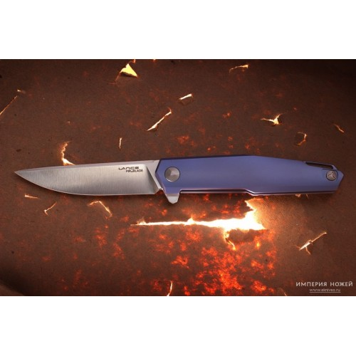 Нож складной LANCE M390 (TITANIUM) – MR.BLADE