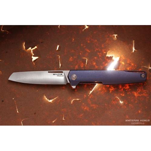 Нож складной SNOB M390 (TITANIUM) – MR.BLADE