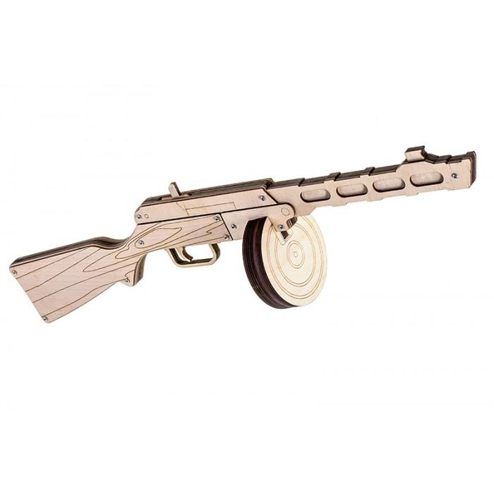Автомат-резинкострел - ППШ