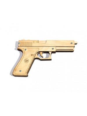 Пистолет-резинкострел - Глок