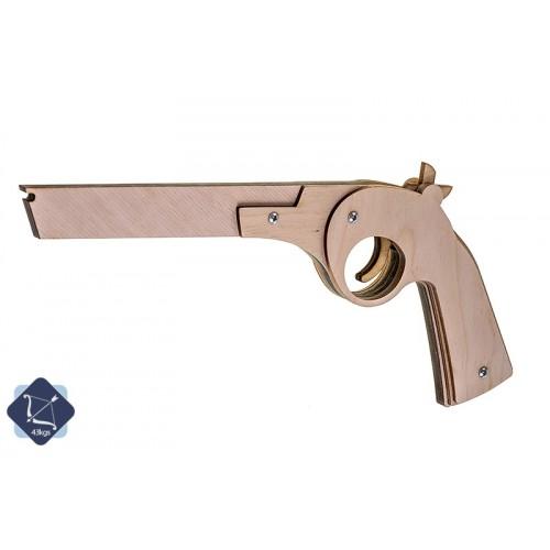 Пистолет-резинкострел - Ретро