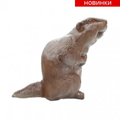 Мишень 3D - Бобер (+сменная вставка)