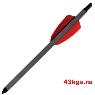 """Стрела арбалетная карбоновая 15"""" для Cobra R9"""