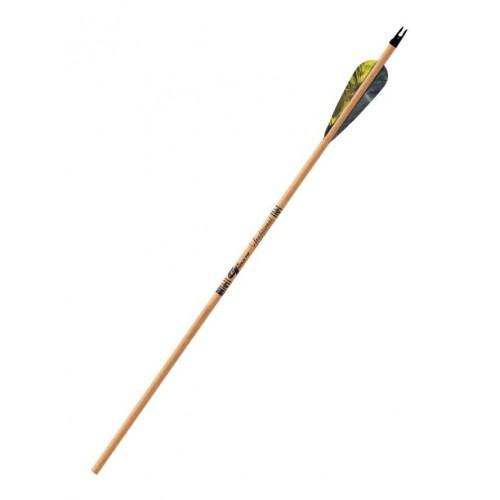 Стрела для лука GOLD TRADITIONAL (с натуральным оперением)