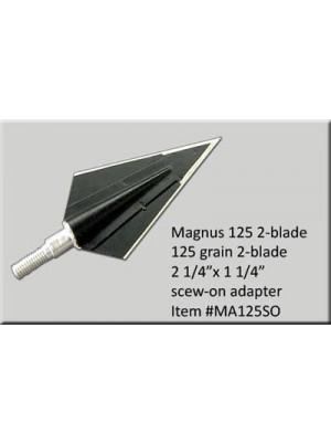 Наконечники Magnus 2-blade 125gr