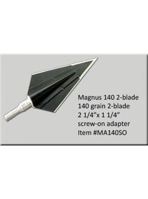 Наконечники Magnus 2-blade 140gr