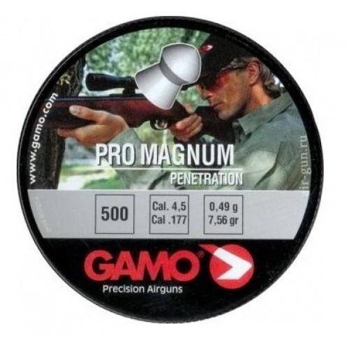 Пули пневматические GAMO PRO – MAGNUM 4,5мм (500шт)
