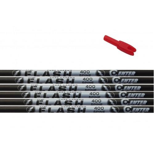 Трубка карбоновая Centershot Flash 400 (12шт)