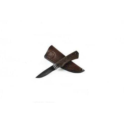 Нож Амулет (дамасская сталь)