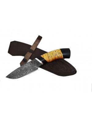 Нож Разделочный (дамасская сталь)