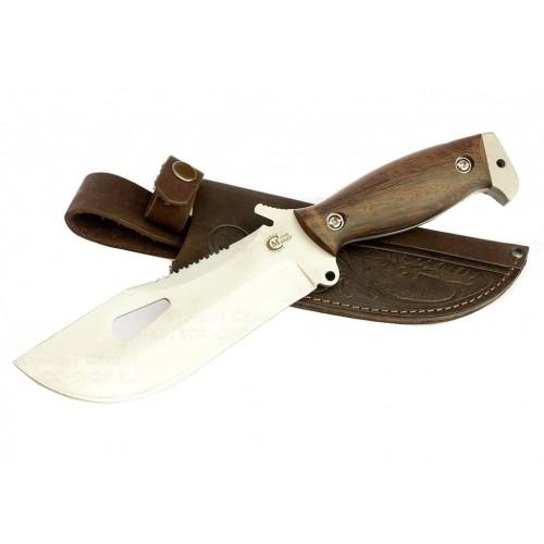 Нож для выживания Воин (сталь 65х13, венге)