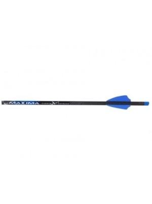 Стрела для арбалета Maxima Blue Streak - карбон